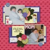 My Mom, the nurse
