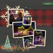 · Merry & Bright ·