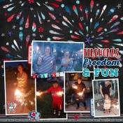 fireworks, freedom & fun