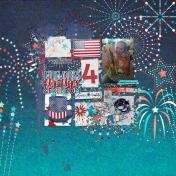 fireworks, flip flops & freedom