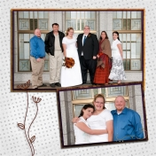 (wedding book page 7) family