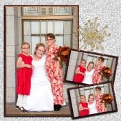 "(wedding book page 17) my ""nieces"""