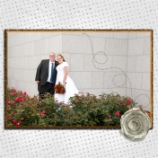 (wedding book page 32) flower bed
