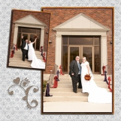 (wedding book page 44) outside