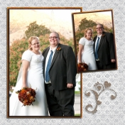 (wedding book page 46) outside