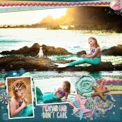 mermaid hair don't care
