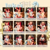 Luke's 1st year