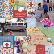 First Aid fun at school