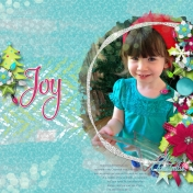 Joy- putting up the tree