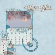 2018-02 February calendar templates