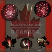 O Canada Fireworks