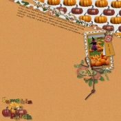 Witch in the Pumpkin Patch