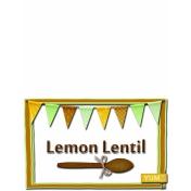 Lemon Lentil Soup Tent