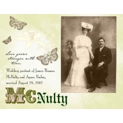 James Thomas McNulty and Agnes Nailor Wedding