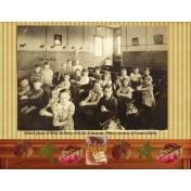 Billy McNulty Class Photo circa 1938-1939
