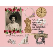 Anna Ceceila Flaherty Scrap Page