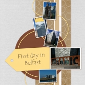First day in Belfast