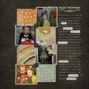 Halloween 2010 Journal