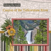 Canyon of the Yellowstone River