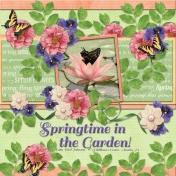 Springtime in the Garden (Sherwood Studio)