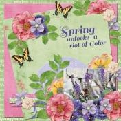 Spring unlocks a riot of color!