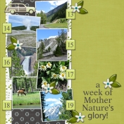 a week of Mother Nature's glory! (ADB Designs)