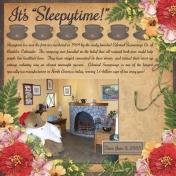It's Sleepytime!