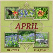 April is Texas is a jewel!
