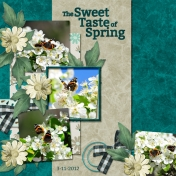 The Sweet Taste of Spring (Over the Fence Designs)