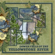 Lower Falls of the Yellowstone River (sher)