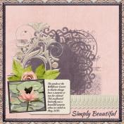 Simply Beautiful (otfd)