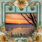 SUNSET on Long Pond (ADS)
