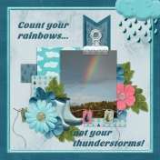 Count your rainbows... not your thunderstorms (TS)