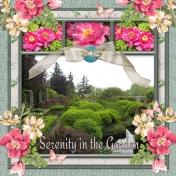 Serenity in the Garden (ads)