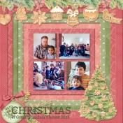 Christmas at Great Grandma's House 2015
