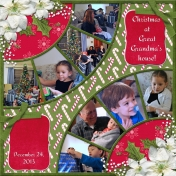 Christmas at Great Grandma's house (WD)