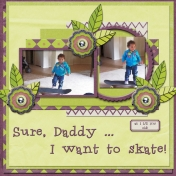Sure, Daddy... I want to skate! (TSbyGina)