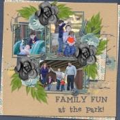 FAMILY FUN at the PARK!