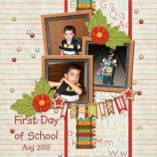 First Day of School- Aug 2010 (sheila reid)