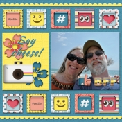 Say cheese (Thrifty Scraps