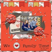 We [love] Family Time (Jessica Dunn)