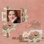 Julie at age 22!