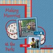 Making Memories at the Park