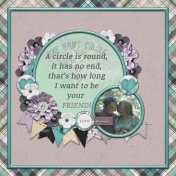 A circle is round...