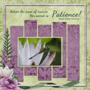 Adopt the pace of nature (ADBDesigns)