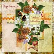 "Happiness is.. ""catching"" butterflies! (MVrijhof)"