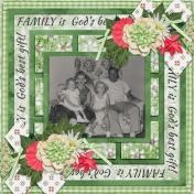 Family is God's best gift! (pbs)