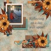 Reflecting on a day well spent! (JDunn)