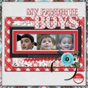 My Favorite Boys (jdunn)