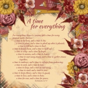 A time for everything2 (JDunn)
